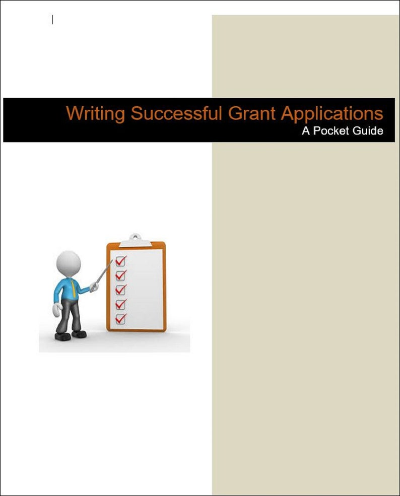 Writing Successful Grant Applications  A Pocket Guide for image 0