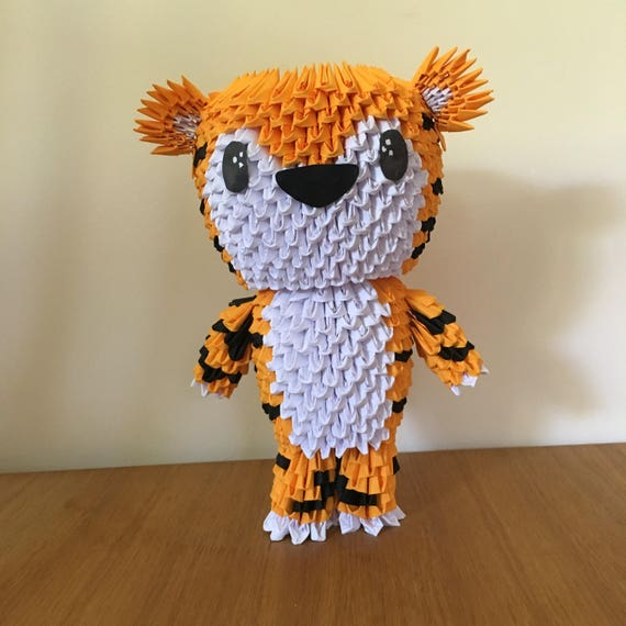 Origami Tiger Rug by staskhabarov   Society6   570x570