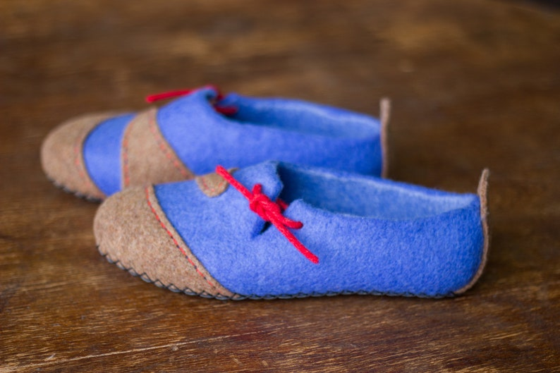 2816d932512dc Women Felted Slippers Mothers Day Mom Daughter Wool Gray Home Shoes Men  Vegetarian Minimalism Clogs Family Parents Husband Gift Schuhe filz