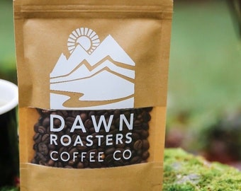 Dawn Roasters Flagship Blend Coffee Beans - Freshly Roasted Coffee Shop Style -  whole bean & cafetière and espresso grind - Dawn Roasters