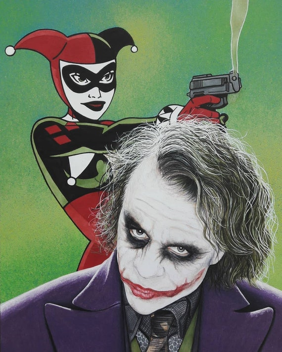 Harley Quinn And Joker Print