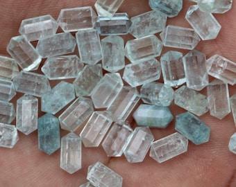 E7091 4x11 mm Approx,22 pieces,24 ct.Approx Natural AQUAMARINE gemstone,Aquamarine sticks,Aquamarine crystal,aquamarine minerals,4x5