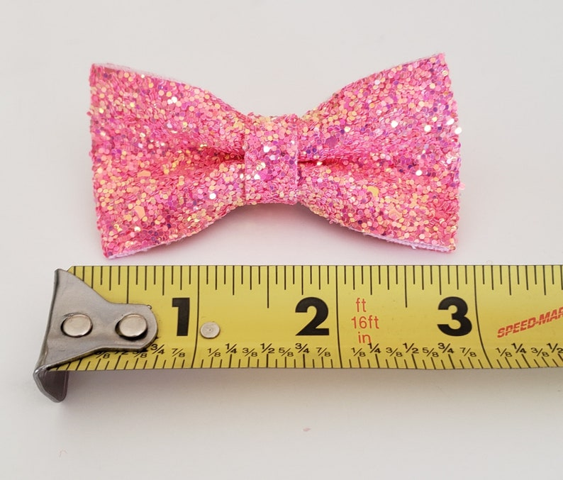 Clearance Peach Glitter Bow Headbands-Glitter Bow-Glitter Bow Headband-Baby Girl Headband-Hair Accessories-Baby Accessories