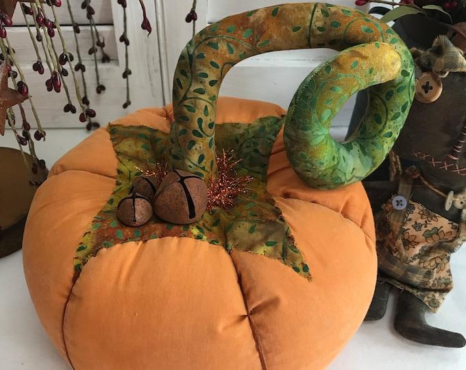 Primitive Pumpkin, Primitive Table Decor, Fall Table Decor, Home Decor, Pumpkin, Fall Pumpkin, Folk Art Pumpkin, Pumpkin Table Centerpiece