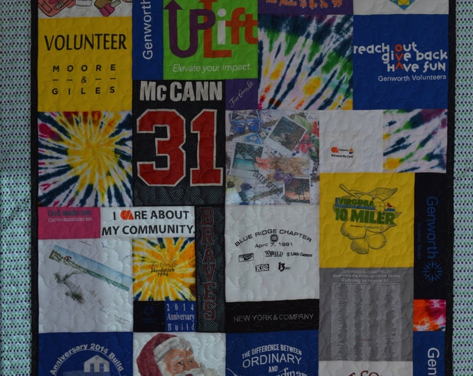 Custom Personalized T-Shirt Quilts