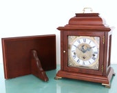 CHRISTIAAN HUYGENS Mantel Clock Console Vintage WESTMINSTER Chime Moonphase Feature Offered With a One Years Guarantee