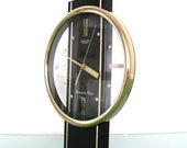SEIKO Wall OR Mantel Clock Qqx102K Volume Control WESTMINSTER Chime Rare Model Clock. Offered With One Years Guarantee