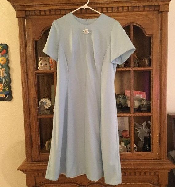 Vintage 1960s plus size dress