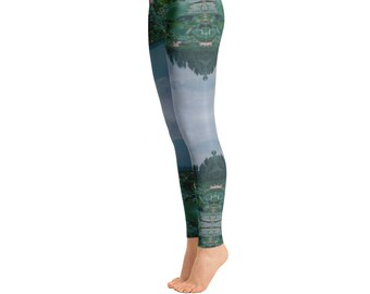 Lotus Meditation Yoga Leggings