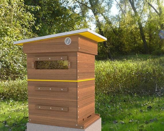 Diy Beehive Plans Langstroth 10 Frame Beekeeping Diy Bee