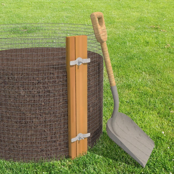 Diy Compost Bin Plans Diy Composter Plans Permaculture Gift For Gardener Sustainable Eco Friendly Gifts Compost Container
