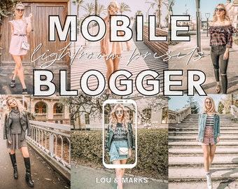 30 Blogger Lightroom Presets & Mobile Presets Bundle