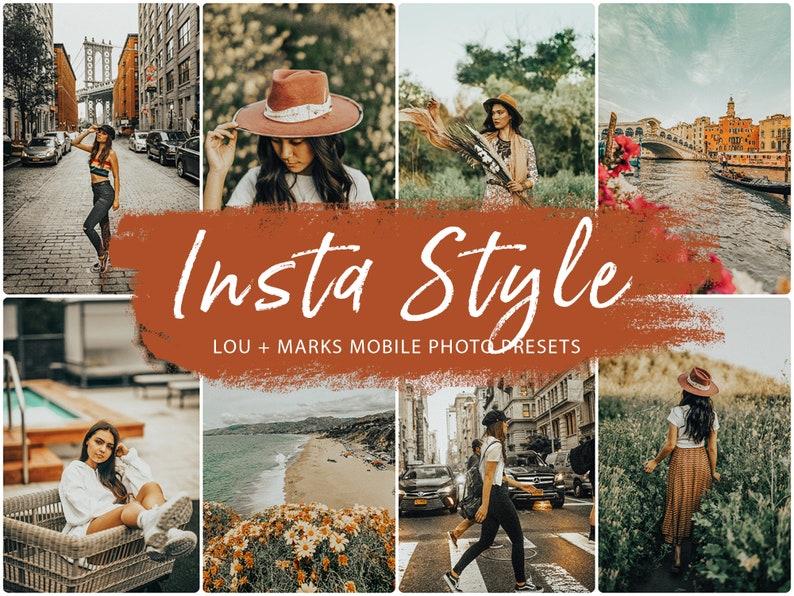 21 Mobile Lightroom Presets Insta Style, Lightroom Mobile Presets, Instagram Presets, Warm Preset for Bloggers, Desktop Presets for Fall photo
