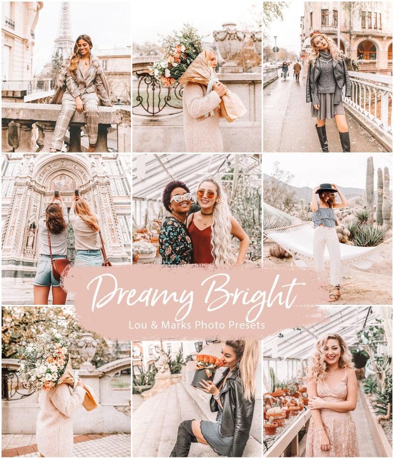 Dreamy Pastel Presets, Lightroom Presets for Mobile and Desktop, Blogger Presets for Instagram, Bright Lightroom Filter photo