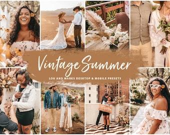 Fall Lightroom MOBILE Presets for Instagram, Insta Instagram Warm Blogger Autumn photo presets, Vintage Summer warm moody dng presets