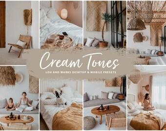 10 Mobile Lightroom Presets, Lightroom Filters, iPhone Presets, Lightroom Mobile Presets Earthy, Instagram Presets, Cream Mobile Dng Preset