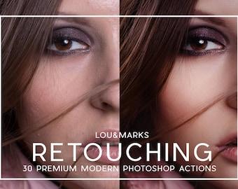 30 Portrait Retouching Photoshop Actions