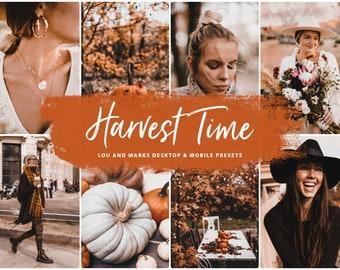 25 Lightroom Mobile Preset, HARVEST TIME Halloween Presets, Instagram Filters, VSCO Filter, iPhone Presets Lightroom, Lifestyle Fall Preset