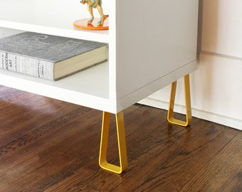 "Besta Cabinet Legs. Fits Ikea Besta and All Other Cabinets. ""Vertex"" Design"