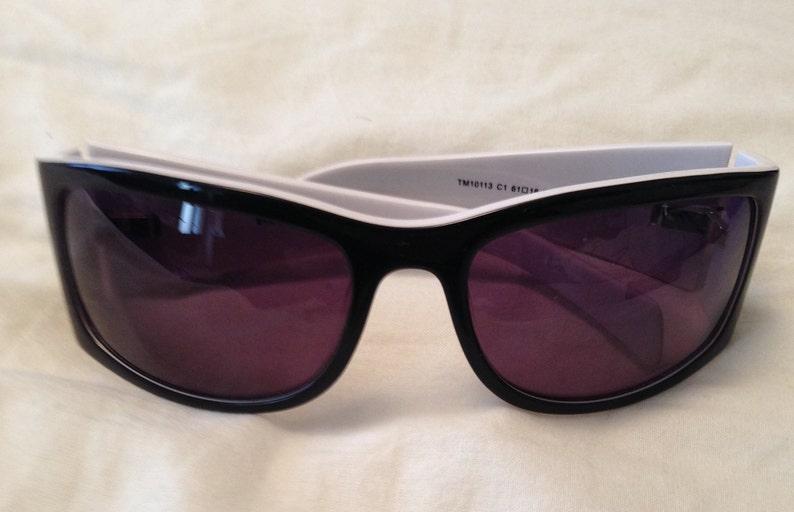 41ed243cd5c0 THIERRY MUGLER Rare Vintage Acetate Sunglasses grey lenses | Etsy