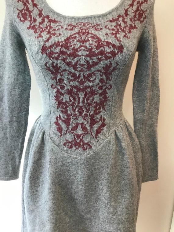 "VIVIENNE WESTWOOD Rare Viantage wool dress with ""… - image 5"