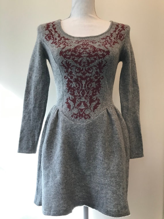 "VIVIENNE WESTWOOD Rare Viantage wool dress with ""… - image 2"