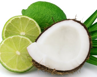 Coconut Lime Verbena Roll On Perfume Oil Bath & Body Works Type Fragrance BBW Dupe Vanilla - Coconut - Lime - Scent