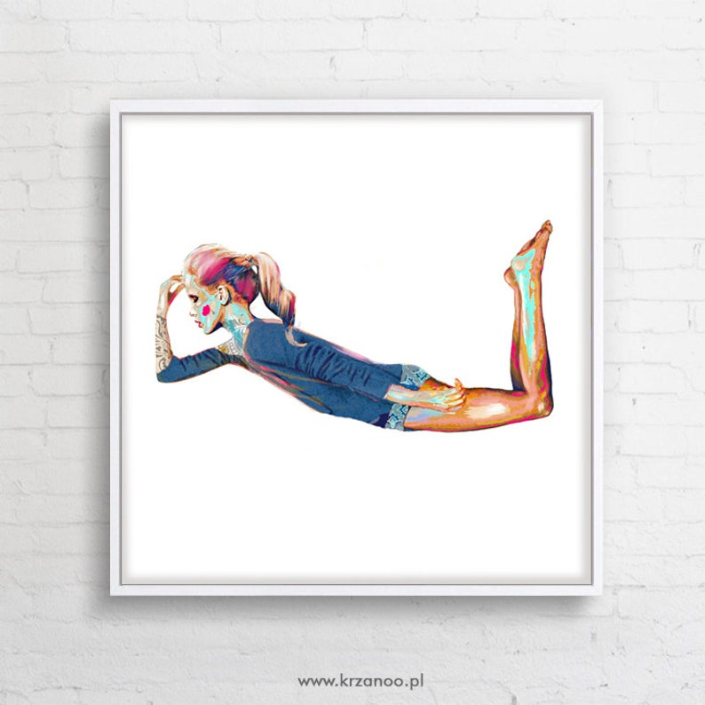 Modern canvas painting Fly Away ideal for living image 0