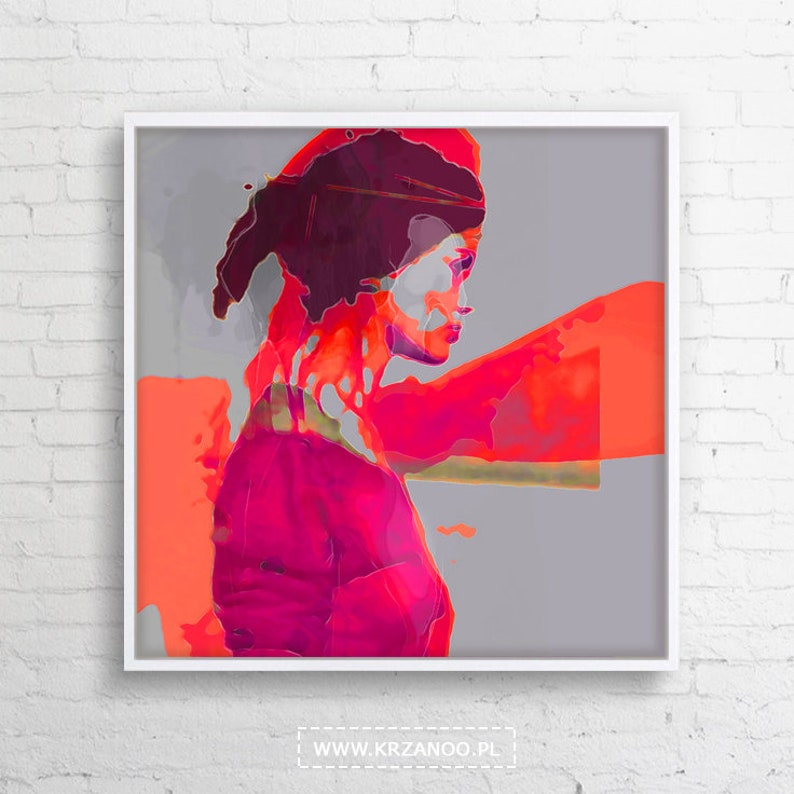 Modern canvas painting searching for bedroom image 0