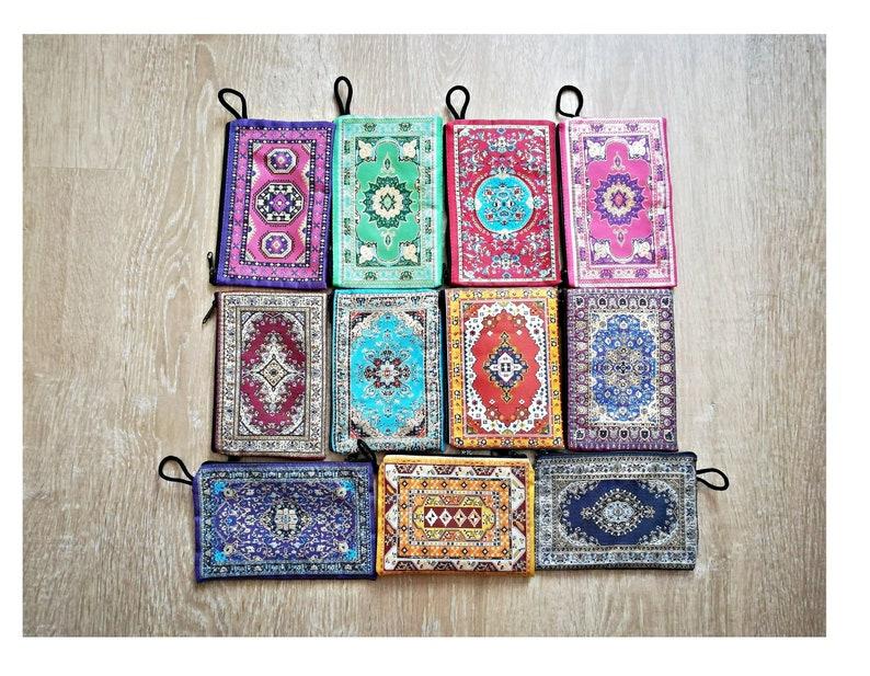 10x15cm mixedWoven tapestry pouch Original Turkish coin purse Kilim rug bag Carpet purse Anatolian wallet Turkish ethnic pouch Bohemian