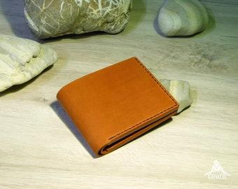 Leather wallet handmade. Handmade wallet, leather purse, classic wallet, pocket wallet, men's wallet