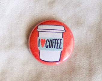 Coffee Magnet / Coffee Gift / Coffee Lover Gift / Gift for Coffee Lover / Coffee / I Love Coffee Magnet / But First Coffee