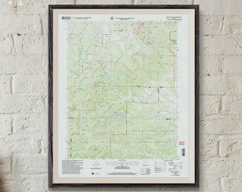 Bryce canyon map | Etsy