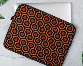 The Shining Overlook Hotel Carpet Pattern Laptop Sleeve