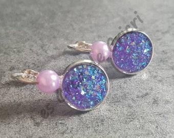 """Lullaby """"Violet"""" earrings"""