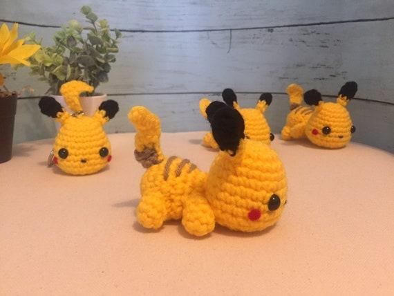 Pattern English PDF Pikachu Pokemon amigurumi, амигуруми мастер ... | 428x570