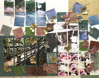 Diana Patchwork Collage