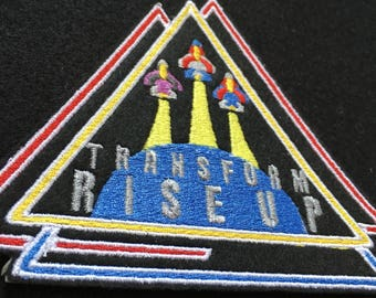 Transformers Seeker Iron On Patch