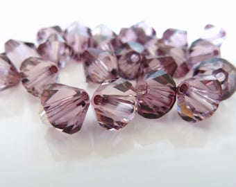 VINTAGE ROSE Genuine Swarovski 5328 XILION Bicone Beads *All Sizes 319