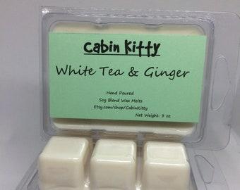 White Tea & Ginger Wax Melt