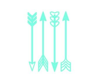 Arrow Decal / Arrow Stickers / Vinyl decal / YETI decal / Tumbler decal / Car decal / Planner stickers / Stickers for girls / Laptop sticker