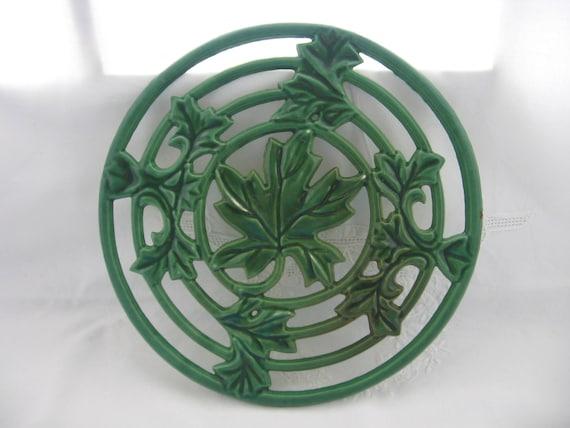 Leaf Shape Trivet Contemporary Leaf Design Pot Stand Pan Stand Set of 2