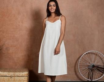 Casual Cotton Dress   Womens Cotton Sleep Wear   Cotton Dress Slips   Slips For Women   Soto Slip