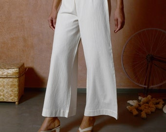 Casual Trousers for Women   Straight Pants   Cotton Pants   Cyera Pants
