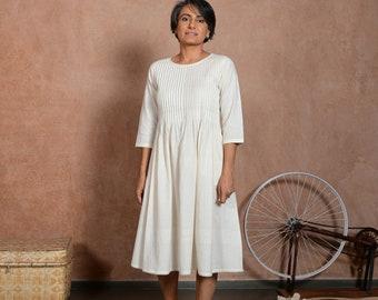 Casual Summer Dresses Women   Indian Cotton Dress   Loose Fit Clothing   Fari Dress
