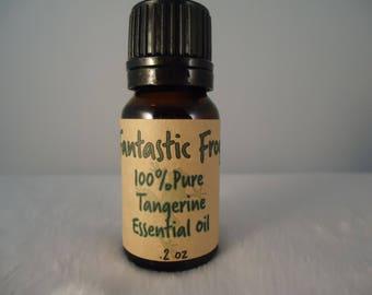 Tangerine 100% Pure Essential Oil .2oz