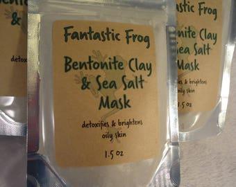 Bentonite Clay & Sea Salt Mask