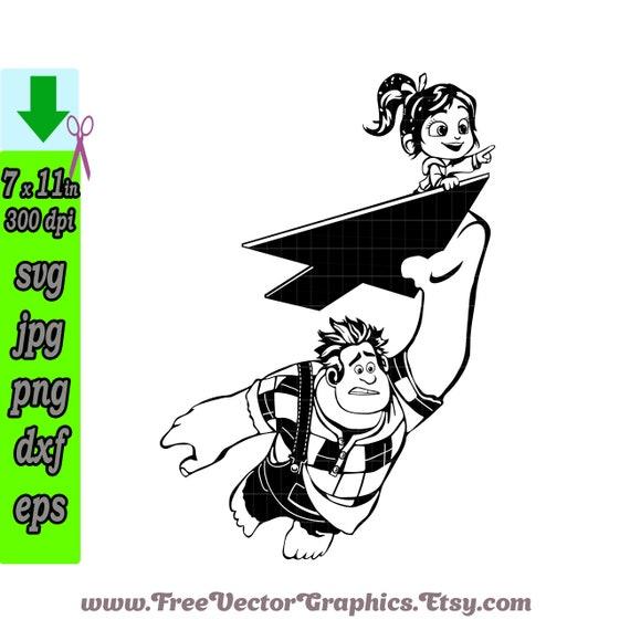 Ralph Disney Svg Files 2018 Cricut Designs Wreck It Ralph 2 Etsy