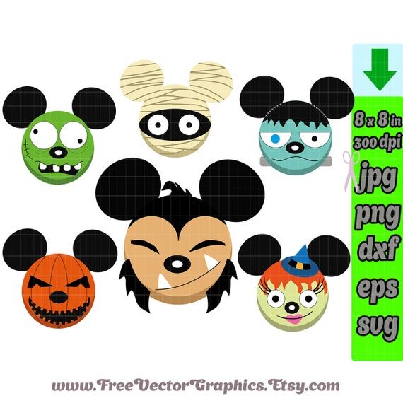 Halloween Svg Files For Silhouette Studio Svg Files For Cricut Etsy