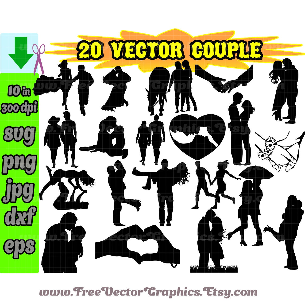 Couple Svg Valentines Svg Cut Files Svg Files For Etsy